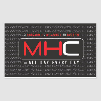 MHC 24-7-365 Stickers