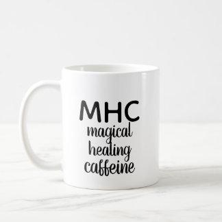 """MHC: Magical Healing Caffeine"" mug"