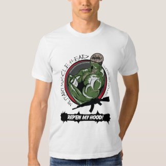 MHCM Army Division -- Rep'en My Hood T-Shirt