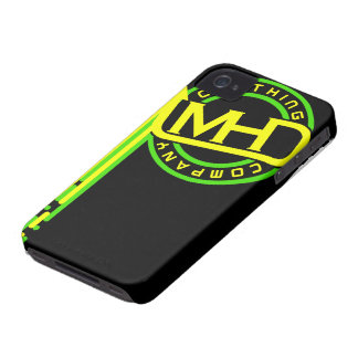 MHD Clothing Company iPhone Case (Drips) BGY Case-Mate iPhone 4 Cases