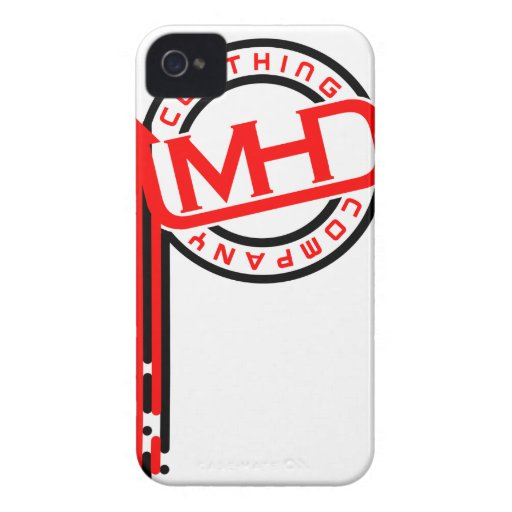MHD Clothing Company iPhone Case (Drips) WBR iPhone 4 Case