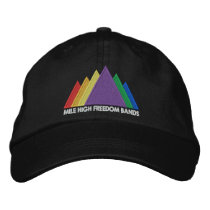 MHFB Embroidered Hat - White Text