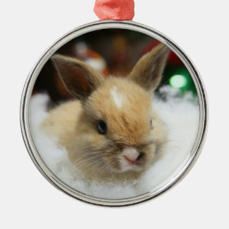 MHRR Honeybadger Bunny baby rabbit ornament