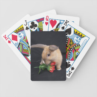 MHRR Honeybadger Bunny rabbit playing cards