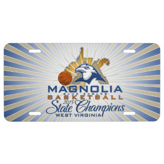 MHS 2015 State Champs Basketball License Plate