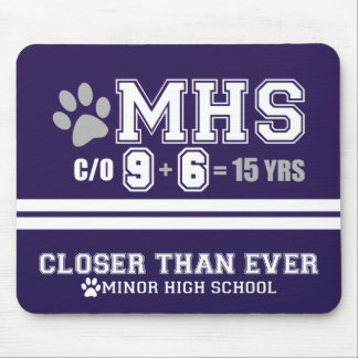 MHS Class of '96 15th Reunion Mouse Pad