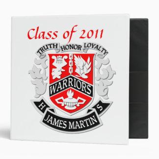 MHS Coat of Arms Grad Binder