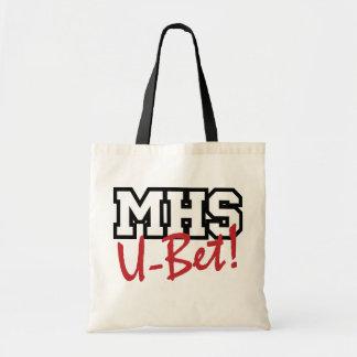 MHS U-Bet! Tote Canvas Bags
