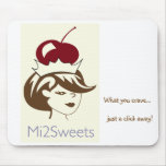 Mi2Sweets Mousepad Tapetes De Ratones