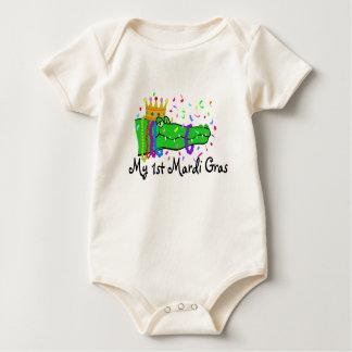 Mi 1r cocodrilo del carnaval mamelucos de bebé