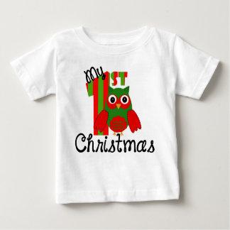 Mi 1r navidad playera para bebé