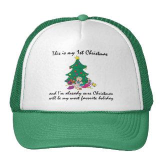 Mi 1r regalo del navidad gorro
