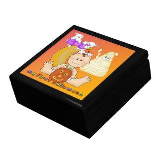 Mi 1ra caja de regalo de Halloween/caja de la bara