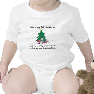 Mi 1ra camiseta del navidad