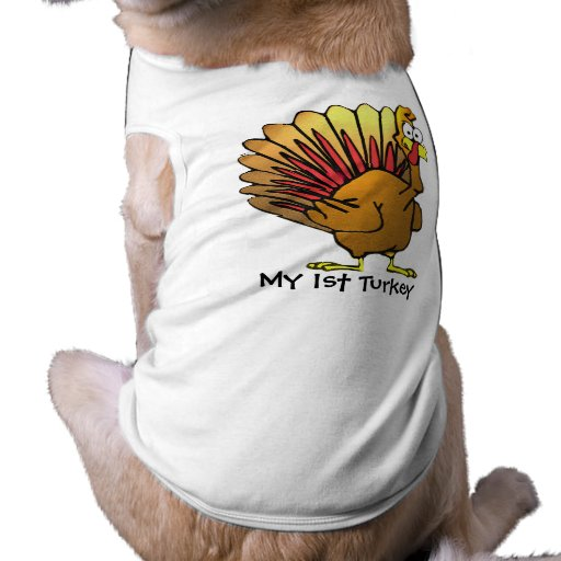 Mi 1ra camiseta del perro de TURQUÍA Playera Sin Mangas Para Perro