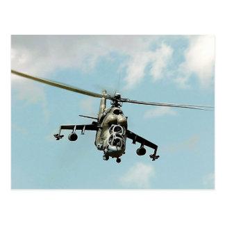 Mi-24 Hind Postcard