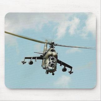 Mi-24 trasero tapetes de raton