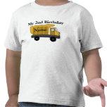 Mi 2do personalizar del cumpleaños él camiseta