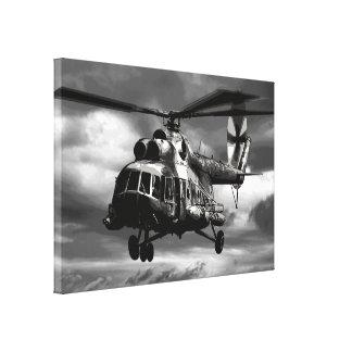Mi-8 Canvas Print