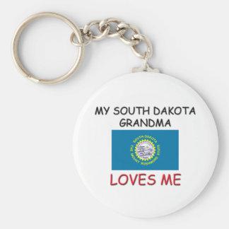 Mi abuela de Dakota del Sur me ama Llavero