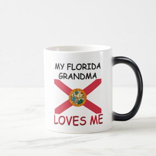 Mi abuela de la Florida me ama Taza Mágica