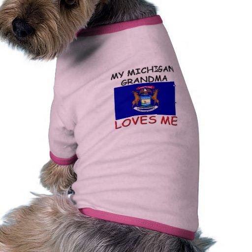 Mi abuela de Michigan me ama Camisa De Perrito