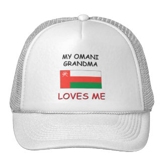 Mi abuela de omaní me ama gorras de camionero