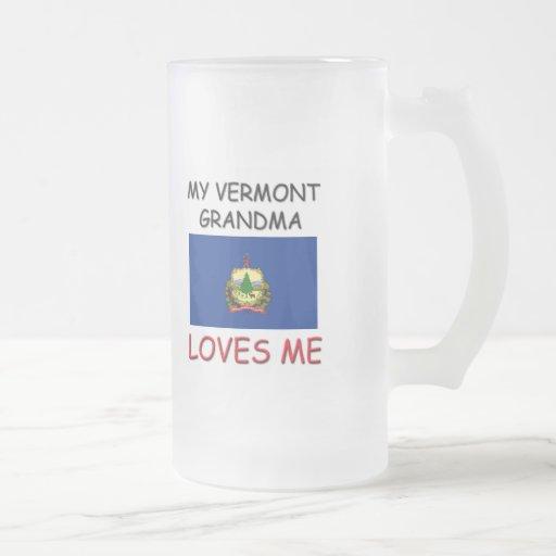 Mi abuela de Vermont me ama Taza De Café