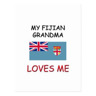 Mi abuela del Fijian me ama Postal