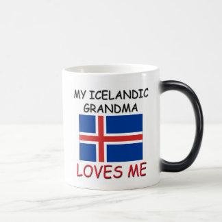 Mi abuela del islandés me ama taza mágica