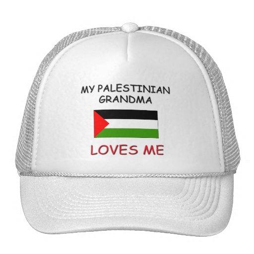 Mi abuela del palestino me ama gorro de camionero