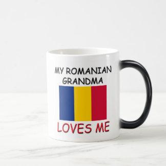 Mi abuela del rumano me ama taza mágica