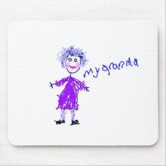 Mi abuela - el dibujo del niño