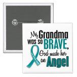 Mi abuela es un cáncer ovárico del ángel 1 pin