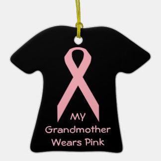 Mi abuela lleva rosa adorno de navidad