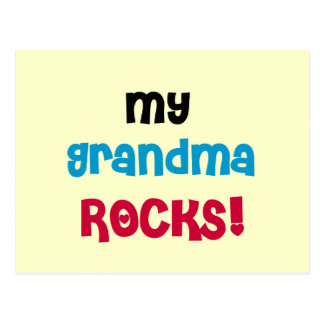 Mi abuela oscila las camisetas y los regalos tarjeta postal