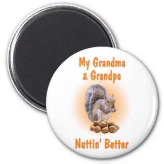 Mi abuela y abuelo imán redondo 5 cm