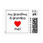 mi abuela y abuelo me aman