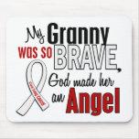 Mi abuelita es un cáncer de pulmón del ángel tapetes de ratones