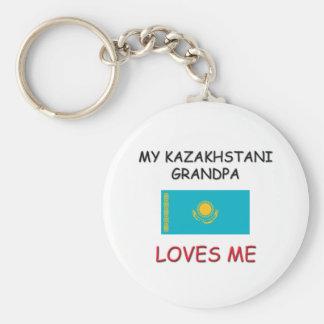 Mi abuelo de Kazakhstani me ama Llaveros