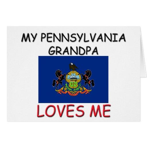 Mi abuelo de Pennsylvania me ama Felicitacion