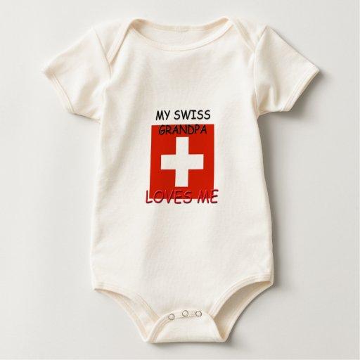 Mi abuelo del suizo me ama mamelucos