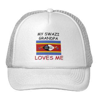Mi abuelo del Swazi me ama Gorro De Camionero