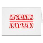 Mi abuelo es mi héroe felicitación