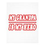 Mi abuelo es mi héroe plantillas de membrete