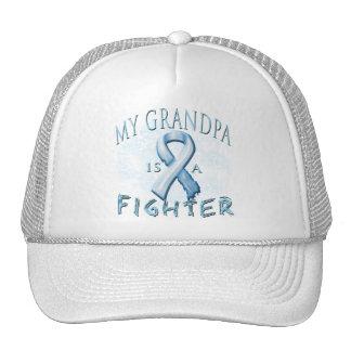 Mi abuelo es un combatiente azul claro gorras de camionero