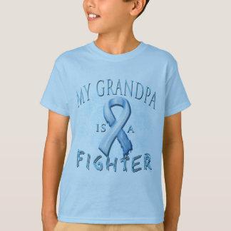 Mi abuelo es un combatiente azul claro playera