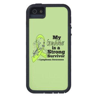 Mi abuelo es un superviviente fuerte del linfoma funda para iPhone 5 tough xtreme