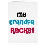 Mi abuelo oscila las camisetas y los regalos felicitación