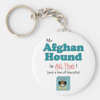 ¡Mi afgano es todo el eso Llaveros